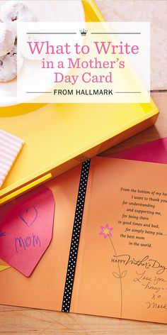 Mothers Day Messages What To Write In A Card