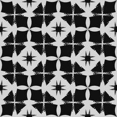 "Grafica di Sabinasmilovich: ""Origine Black"" #sabinasmilovich #pattern #thecolorsoup #geometry #texture #colors #design #style"