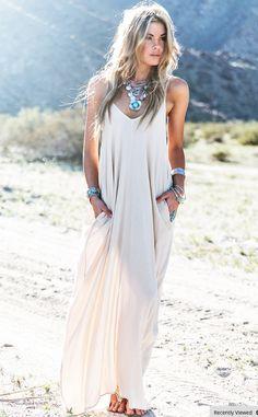 Boho Maxi Beach dress