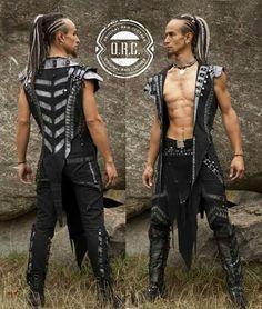 Irdorath concert outfits 2015 #irdorath #fantasyfolk #concertcostumes #dreamcatcher #concertoutfits #orcfashion #Orc_Fashion #uniqueaparel #gothic #handmade