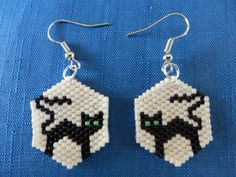 Seed Bead Patterns, Beaded Jewelry Patterns, Bracelet Patterns, Beading Patterns, Beading Tutorials, Seed Bead Jewelry, Seed Bead Earrings, Beaded Earrings, Seed Beads