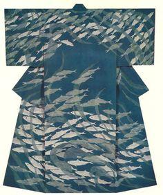 Japanese Embroidery Kimono from kimono gallery Traditional Japanese Kimono, Japanese Art, Japanese Geisha, Japanese Textiles, Japanese Patterns, Japanese Outfits, Japanese Fashion, Modern Kimono, Kimono Design
