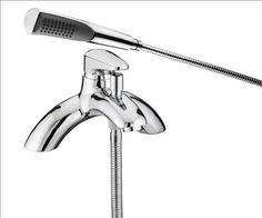 Bristan Jute Single Lever Bath Shower Mixer Chrome Plated Finish Chrome Save almost 50 pounds