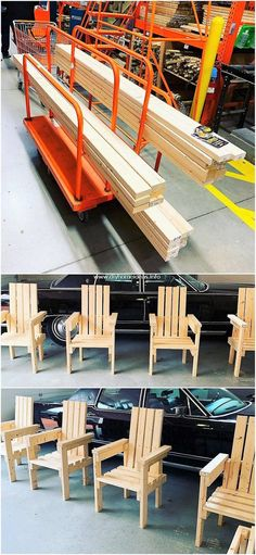 Impressive Ideas for Recycling Old Wooden Pallets: Bring up with something really inspiring in your house through the favorable attractive use of the wood pallet in your house. Shelf Furniture, Diy Pallet Furniture, Woodworking Furniture, Furniture Projects, Woodworking Projects, Pallet Side Table, Pallet Bench, Pallet Chairs, Pallet Ideas