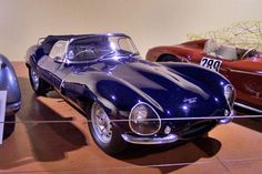 1957 Jaguar XKSS — The road-going version of the D-Type racing car. How cool? Steve McQueen owned one. Only 16 were made, all powered by the...