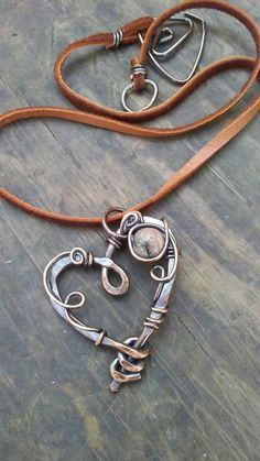 Hey, I found this really awesome Etsy listing at https://www.etsy.com/listing/475969458/copper-heart-pendant-necklace