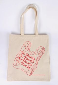 No Comply No Thanks Tote Bag – natural – Good As Gold - Herzlich willkommen Sacs Tote Bags, Cute Tote Bags, Canvas Tote Bags, Reusable Tote Bags, Red Tote Bag, Costura Diy, Bag Quotes, Bag Illustration, Diy Vetement