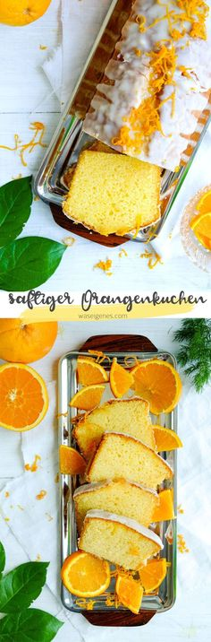 Saftiger & fluffiger Orangenkuchen   Rezept waseigenes.com