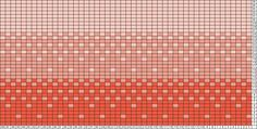 Tricksy Knitter Charts: Coral Gradient by Paige