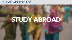 Study Abroad | Champlain College on Vimeo
