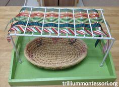 On the Art Shelves in December — trilliummontessori.org