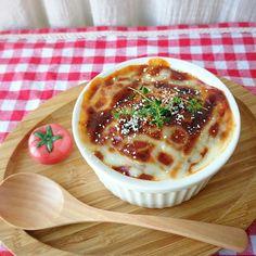 レンジ&トースターで簡単ラザニア by *minachi* [クックパッド] 簡単おいしいみんなのレシピが225万品