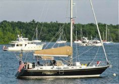 A great second choice cruising boat for Grant:  1990 Hylas 47 Sail Boat For Sale - $199K, www.yachtworld.com