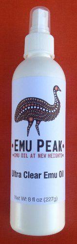 Emu Peak Ultra Clear Emu Oil (8oz)