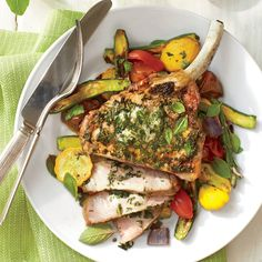 Homemade Shake-and-Bake Pork Chops with Mustard Sauce - 16 Flavorful Pork Chop Recipes - Southern Living