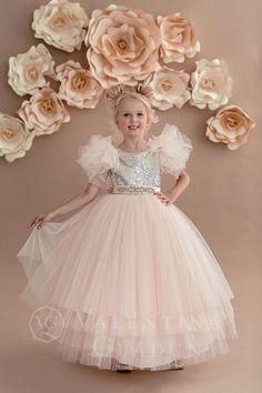 Little Girl Gowns, Gowns For Girls, Wedding Dresses For Girls, Girls Party Dress, Little Girl Dresses, Girls Dresses, Flower Girl Dresses, Bridesmaid Dresses, Dress Wedding