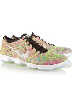 release date 00b4f 4c2fd Nike - Flyknit Zoom Agility mesh sneakers