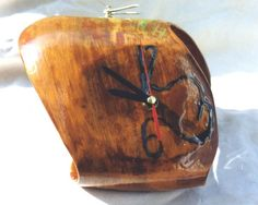 TABLE CLOCK 'TWO IN ONE' -face A (Reloj de mesa 'Dos en uno' -Cara A)