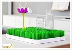 BOON LAWN & STEM - I have the smaller Grass one, but I really wish I had known about the bigger one. This thing is so much better than other bottle drying racks and it works for non-baby stuff too.