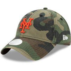 New York Mets New Era Women's Preferred Pick 9TWENTY Adjustable Hat - Camo