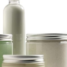 Homemade cosmetics without labels lack a professional appearance..