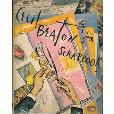Cecil Beaton's Scrapbook | From a unique collection of antique and modern books at https://www.1stdibs.com/furniture/more-furniture-collectibles/books/