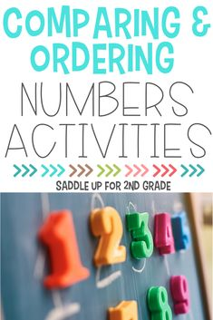 Check out these comparing and ordering numbers activities, perfect for elementary math students! The activities and ideas included are simple, effective, and easy to implement. #teachingmath #elementarymath