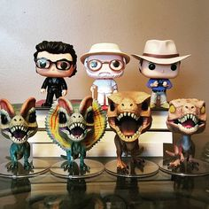 Welcome to Jurassic Park!  Finally posting Funko stuff again. This movie is in my Top 3 Faves of All Time and I credit it with as part of the reason I went into a Science career. I cannot wait for the Jeep Ride with Ellie and injured Ian Malcom.  Now enjoy humming that theme song all day. . . . #funko #funkopop #pop #popvinyl #originalfunko #funkofunatic #funkogoodvibes #vinyl #vinyltoys #jurassicpark #ianmalcom #johnhammond #alangrant #jeffgoldblum #trex #velociraptor #dilophosaurus…