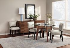 Cale Dining Table Room by R - modern - dining room - other metro - Room & Board
