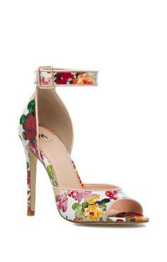 Antiqua Peep Toe Sandal