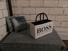 boss mini bag. <3 dollhouse accessoires bag 1:6, (1:12) miniature from finescales by DaWanda.com