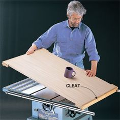 Do more with your table saw