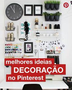 Encontre as melhores ideias de decoração do Pinterest, em um só lugar