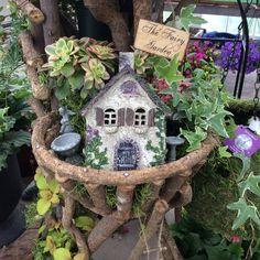 7+ Best Fairy Garden Ideas for Your Inspiration Indoor Fairy Gardens, Fairy Gardening, Container Gardening, Garden Projects, Garden Ideas, Sunrise Farm, Desktop Zen Garden, Fairy Tree Houses, Yard Art