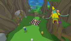 Players can explore the Land of Ooo with Finn and Jake in VR with 'Adventure Time: Magic Man's Head Games'.