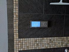 The app driven shower controller features an easy-to-read LCD screen that's outlet powered and Wi-Fi connected Digital Showers, Shower Valve, Shower Enclosure, Walk In Shower, Ac Power, Three Days, Wi Fi, Shower Ideas, App