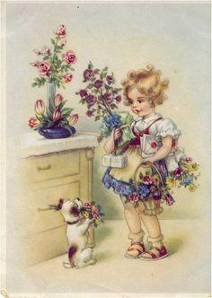 3 cartes vintage enfants - Page 5