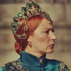 Another actress playing an older Hürrem in season 4 of The Magnificent Century,