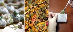 Gift idea: homemade tea blends.  Start with a base of green, black, or rooibos tea.