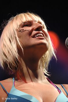 Singer/Songwriter: Sia. Many say she's strange but I find her to be admirable.