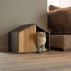 Check out our modern cat bed selection for the very best in unique or custom, handmade pieces from our pet beds & cots shops. Animal Room, Animal House, Pet Beds, Dog Bed, Diy Cat Bed, Indoor Pets, Cat Playground, Cat Room, Pet Furniture