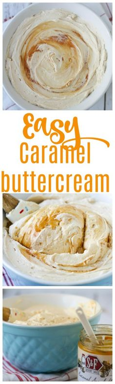easy caramel icing | caramel buttercream | caramel icing | how to make caramel buttercream | salted caramel buttercream