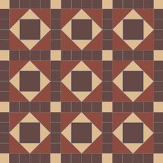 lockwood geometric floor tiles will work in any combination of two, three or four different colours Tiled Hallway, Grey Grout, Geometric Tiles, Adhesive Tiles, Interior And Exterior, Tile Floor, Patches, English, Colours