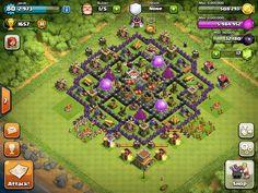 Clash of clans th8 farming base