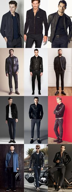 Men's Monochrome Going Out Outfits Lookbook