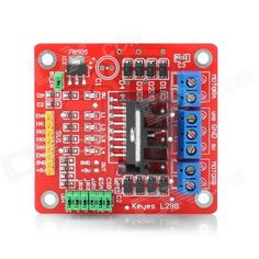 L298N Stepper Motor Driver Controller Board for Arduino (Works with Official Arduino Boards)