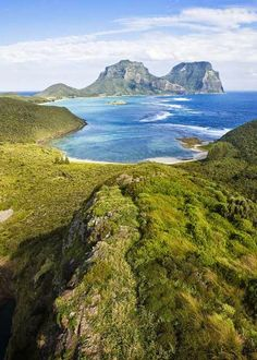 Lord Howe Island, Australia is an irregularly crescent-shaped volcanic remnant in the Tasman Sea between Australia and New Zealand - holidayspots4u