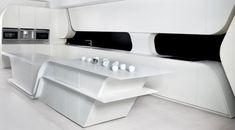 The Art of Interior Design, Futuristic Furniture and Modern Furniture Design Trends Home Design, Interior Design Kitchen, Kitchen Designs, Design Design, Design Trends, Design Ideas, Futuristic Interior, Futuristic Furniture, Retro Futuristic