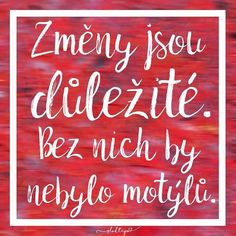 Bez nich by nebylo motýlů. Carpe Diem, Project Life, Motto, Funny Texts, Karma, Bff, Quotations, Advice, Neon Signs