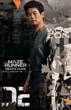 From the maze runner death cure Minho/ Ki Hong Lee Saga Maze Runner, Maze Runner Trilogy, Maze Runner The Scorch, Maze Runner Thomas, Maze Runner Movie, Thomas Brodie Sangster, Minho, Maze Runner Death Cure, James Dashner